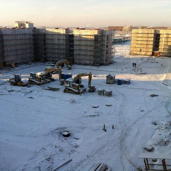 Ход строительства ЖК Образцовый квартал январь 2016